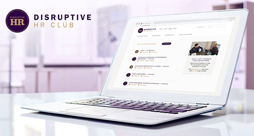 Laptop With DHR Club Discussion